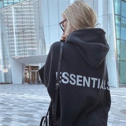 hoodies blanc cassé achat en gros de-news_sitemap_homeEssentials Sweat à capuche Hommes Femmes Pull Sweat shirt Black Sweat shirt Vintage Goth Sweat Tops hors Kanye West White Retro Tracksuit x1021