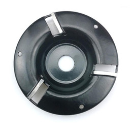 For 16mm Angle Grinder Tool Milling Cutter Tray Blade Tridentate Woodworking Disc Grinder 100MM Power Wood Carving Disc1 on Sale