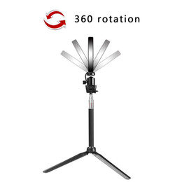 Dimmable Ring Fill Light Lamp Video Make-Up Selfie Camera Phone LED Studio Studio LED Ring Lights Photo Video Lamp Light Kit on Sale