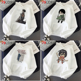 Wholesale titan men resale online - Anime Attack On Titan hoodies men Korea y2k aesthetic hip hop men hoddies y2k aesthetic anime Q0105