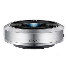 Nova NX-M 9 milímetros f / 3.5 lente Para Samsung NX mini, câmera NXF1 NXF1 em Promoção
