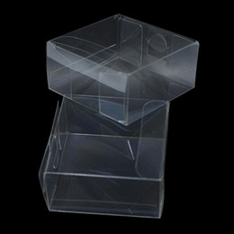 transparent plastic toy 2021 - Wholesale Transparent Waterproof Clear Pvc Boxes Packaging Small Plastic Box Storage For Jewelry Candy Toys Clear Display Box H bbyQdF