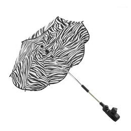 portable umbrella strollers UK - Solid Shade Protection Parasol Rain Covers Adjustable Anti-UV Sun Umbrella Portable Baby Stroller Accessories Canopy Universal1