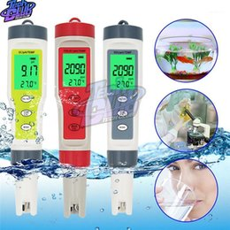 test tools 2021 - PH Meter ORP Chlorine Meters TDS Salinity Testers EC Temp Detector Water Quality Monitor Test Tool Filter for Pool1 chea