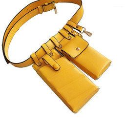 leather belt bum bag Australia - Fashion Women Leather Waist Fanny Pack Belt Bag Phone Pouch Travel Hip Bum Shoulder Bags Purse1
