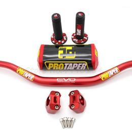 "Handlebar PRO Taper Pack Fat Bar 1-1 8"" Dirt Pit Bike Motocross Motorcycle Handlebar 810mm length 28.5mm PRO aluminum1 on Sale"