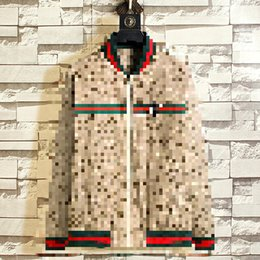 Wholesale spot hoodie for sale – custom Spring new casual jacket collar male bee cardigan coat male high end foreign trade explosion Spot Mens white designer hoodie sweatshirt H09