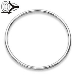 Wholesale laps tops resale online - Top Quality Silver Plated Bangle Wedding Jewelry Accessories Classic Men s MM Lap Fashion Silver Bangles Bracelet