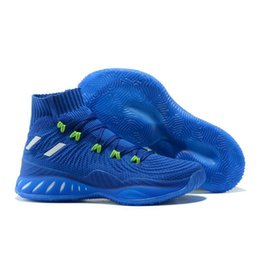 designers basketball shoes Australia - Crazy Explosive 2017 40-46 Highest quality designer Sneakers men chaussures sports Running Basketball shoes Platform Chaussures Jumpman