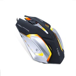 Wholesale game computers for sale for sale – custom Professional Gaming wired mouse charging colorful luminous game mouse desktop notebook general hot sale USB For all computer