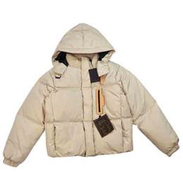 Women Designer Parkas Top Quality Women Hooded Winter Warm Coat Fashion Women Jacket Black Beige Color with Labels Size 44 46 48 50 on Sale
