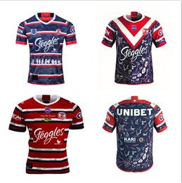 Discount rugby jerseys hero New 2020 2021 Sydney Rooster for fans Australian hero men's adult high quality Rugby League Jersey