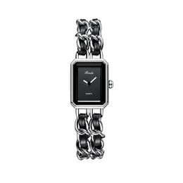 Wholesale 2020 New Luxury Women Watch Square fashion dress Watches Classic Quartz top quality Watch special style Bracelet Wristwatch free shipping