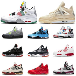 Wholesale shoes carnival for sale - Group buy Top Luxury Carnival sail PSGs s Travis Scotts Jumpman womens Mens Basketball Shoes Alternate New Bred trainers Sneakers size