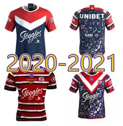 rugby jerseys hero 2021 - New 2020 2021 high quality Sydney Rooster Australian hero men's adult high quality Rugby League Jersey