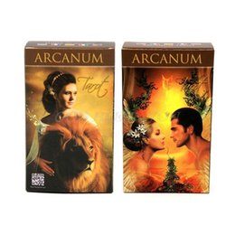 deck cards UK - Full English Arcanum Tarot 78 Cards Deck Oracle Playing Card Party Board Game Drop Shipping yxloEI ly_bags
