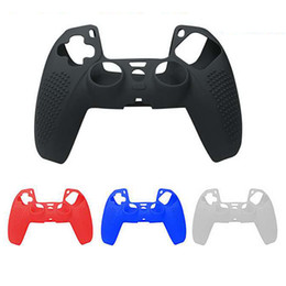 playstation controller skins Australia - New 4 Colors Soft Protective Cover Silicone Case Skin for Playstation 5 PS5 controller Gamepad Protector