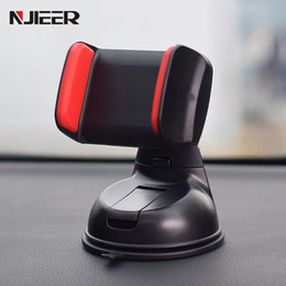 Wholesale mobile phone car holder gps for sale - Group buy Universal Car Holder For Phone in Car Air Vent Clip Mount Windshield Sucker Mobile Phone Holder GPS Stand For