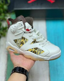Wholesale people court online – design Air JoE quot Quai quot This color matching uses beige leather upper to show people basketball shoes
