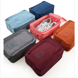 football bedding 2021 - Portable Waterproof Football Shoe Bag Travel Boot Rugby Sports Gym Carry Storage Nylon Mesh Case Shoe Organizer Keeper Storage