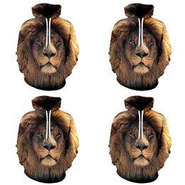 Wholesale lion sweater for sale – custom jiedA Digital printing gradient lion gradient suit Digital Sweater uniform fashion uniformHooded printing D lion D suit suitbaseball unifor