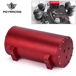 Venta al por mayor de 1.2 galones extraíble 200 PSI tanque de aire sistema de bolsa de a bordo eléctrico portátil 6 puerto para remolque del barco aire auto-elevación de la suspensión PQY ATK01