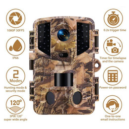 Wholesale 20MP Hunting Camera 1080P HD Trail Camera IP66 PIR Motion Night Vision Camcorder1