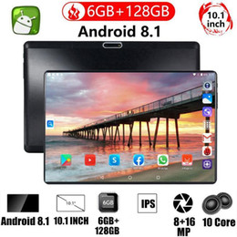 2021 WiFi Tablet PC 10.1 Inch Ten Core 4G Network Android 9.0 Arge 1280x800 IPS Screen Dual SIM Dual Camera Rear 8.0 MP IPS1 on Sale