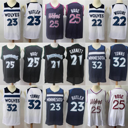 jerseys derrick rose Australia - Minnesota