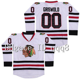 ingrosso vacanze di natale-Chicago Blackhawks Clark Griswold Jersey National Lampoon s Christmas Vacation Ice Hockey Jerseys