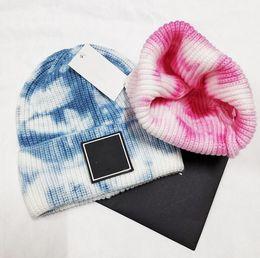 Großhandel Großhandel Mode Mützen Luxur Skull Caps Hip Hop Mütze Winter Warme Hut Strickwolle Hüte Für Frauen Männer Gorro Motorhaube Mützen Mützen
