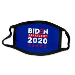 Wholesale 2020 Polyester Cloth Campaign Mask Hot Sale Washable 3d Mask Digital Printing Letter Mask Dhl For Free