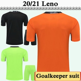 Wholesale soccer new clothes resale online - 2020 LENO R Runarsson M Macey Mens Soccer Jerseys New Club Goalkeeper Balck Orange Green Football Shirts Short Sleeve Adult clothes