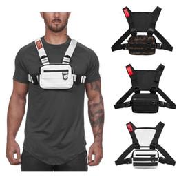 Tactical colete pilha de rigor packs holster holster rádio rádio walkie talouch esporte exterior reflexivo tira externo gancho strap strapwear packe em Promoção