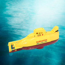kids submarine toy Canada - RC boat Mini Submarine RC Speedboat High Powered 3.7V Large Model RC toys Submarine Outdoor with the Model Electric Kids toy Y200413