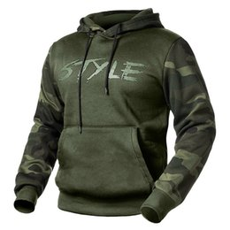 Wholesale jacket military for sale – winter Tactical Men s Camouflage Hoodies Spring Autumn Casual Pullover Fleece Hooded Sweatshirt Male Military Hoody Jacket US Size XXL Y1112
