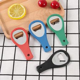 Wholesale Plastic bottle opener can print advertising logo beer wine bottle opener tennis racket bottle opener kitchen restaurant essentials
