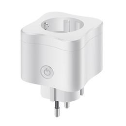 Socket intelligente standard europeo WiFi Mobile Phone APP Switch Switch Timing Plug Controllo vocale Socket Europeo Standard Universal Socket in Offerta