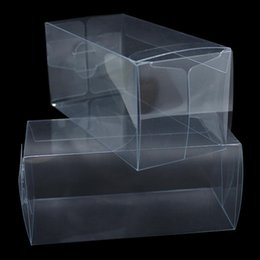 Discount transparent plastic toy Wholesale Transparent Waterproof Clear Pvc Boxes Packaging Small Plastic Box Storage For Jewelry Candy Toys Clear Display Box H bbybVL