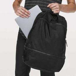 venda por atacado Lemon rosa homens negros mulheres sacos esportes yoga fitness impermeável saco de escola viagem viajar mochila frete grátis