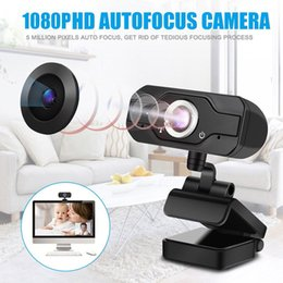 MEGAPIXEL FULL HD MEGAPIXEL 1080P USB2.0 Fotocamera Webcam con clip-on MIC per computer PC Laptop 2MP Web Cam Chiamata videochiamata in Offerta