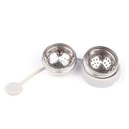 Creative-Edelstahl-Tee-Kugel-Tee Brüheinrichtung Kugel Sieb Infuser Teefilter Diffusor Schmutzfänger Küchenhelfer CCD1976 im Angebot