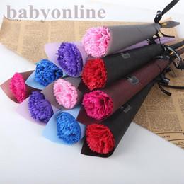 Ingrosso Hot Real Touch Rose Simulato Fake Latex Roses 43 cm Lungo 12 colori per la festa di nozze Fiori decorativi artificiali Decorazioni per feste di nozze