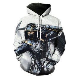 Wholesale new assassin s creed hoodie resale online - 2020 Fall And Winter New Assassin Creed D Digital Printed Sweater Men s Casual Sports Hoodie Loose Baseball Jacket