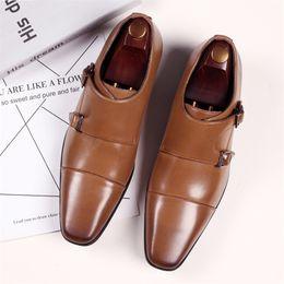 Men/'s Business Robe Formelle Chaussures Bout Carré Casual derbies à Enfiler Mocassins Neuf