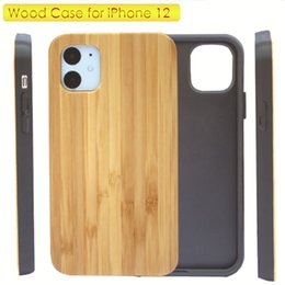 Wholesale case ipone for sale - Group buy Newest Style Plain Genuine Wood Phone Case for iPone Pro Max High Quality Wooden Mobile Phone Soft TPU Shockproof Cover for Samsung