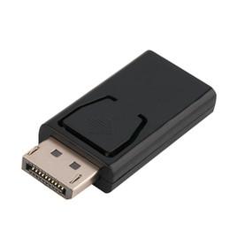 Großhandel Stock Hohe Qualität Standard DisplayPort Display Port DP Stecker an HDMI Weiblicher Adapterkonverter für MacBook Pro Air Retina HDTV-PC