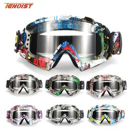 Wholesale High Quality Fashion Colorful Windproof Sandproof 20*10cm Motorcycle Bike Dirt ATV Offroad Ski Harley PC Goggles