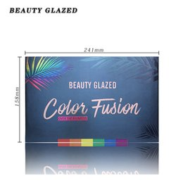 white eyeshadow palette UK - 39 Colors Matte Glitter Eyeshadow Pallete Holographic Rainbow Disk Highlight Neon Pigment Eyeshadow Palette Makeup Tool TSLM1Rab