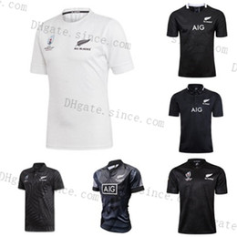Großhandel 2020 Neue Ankunft Alle Black Super Rugby Jerseys Sevens Rugby-Shirt MAILLOT CAMISETA MAILLOT CAMISETA MAGIA TOPS MENS S-3XL KIT
